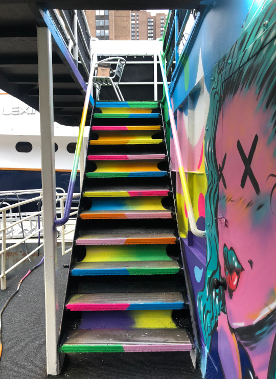 Artwork from the ArtBoatNYC